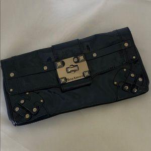 Juicy Couture navy clutch